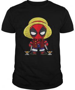 Deadpool Luffy funny One piece  Unisex