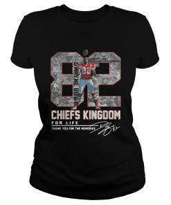 Dwayne Bowe 82 Kansas City Chiefs Kingdom for life signature Classic Ladies