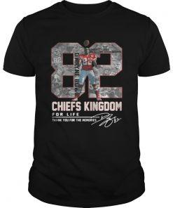 Dwayne Bowe 82 Kansas City Chiefs Kingdom for life signature Unisex