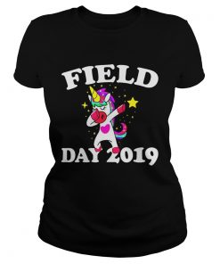 Field Day 2019 Dabbing Unicorn  Classic Ladies