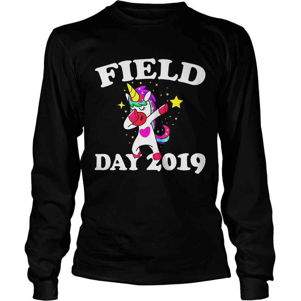 Field Day 2019 Dabbing Unicorn LongSleeve