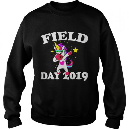 Field Day 2019 Dabbing Unicorn  Sweatshirt