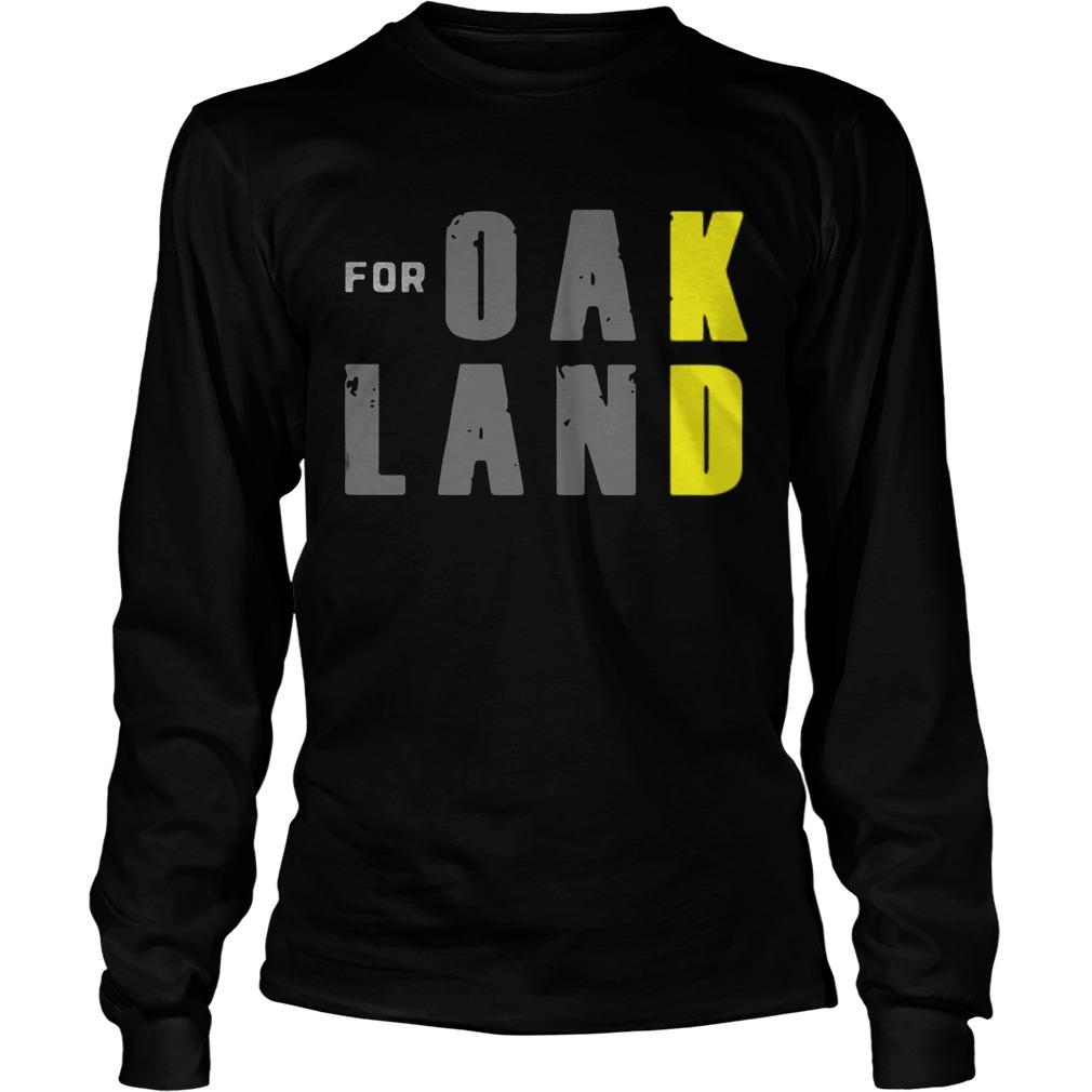 For KD Oakland LongSleeve