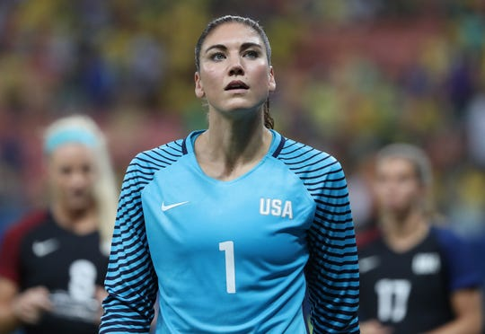 Former USWNT goalie Hope Solo