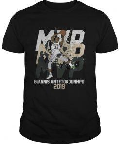 Giannis Antetokounmpo MVP 2019 Milwaukee Bucks  Unisex