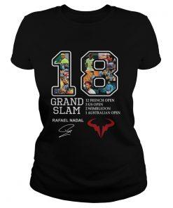 Grand Slam 18 Rafael Nadal signature 12 French open  Classic Ladies