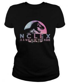 Jurassic park Nclex is walk in the park  Classic Ladies