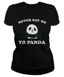 Never Say No To Panda Black  Classic Ladies