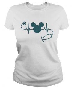 Nurse loves Mickey Mouse Disney  Classic Ladies
