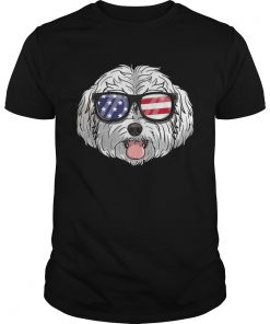 Original Maltipoo Dog Patriotic USA 4th Of July American Shirt Unisex