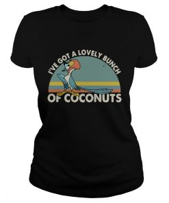 ParrotIve got a lovely bunch of coconuts retro  Classic Ladies