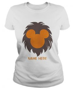 Personalized Disney Lion King Family Funny Gift TShirt Classic Ladies