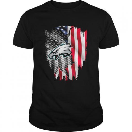 Philadelphia Eagles American flag  Unisex