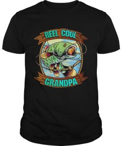 Reel Cool Grandpa Fathers Day Fishing Outfit Fisherman  Unisex