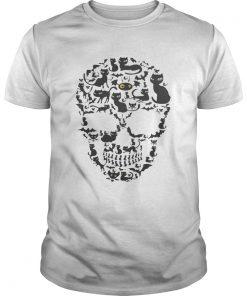 Skull Cat Halloween  Unisex