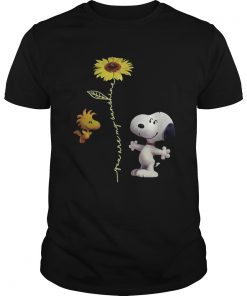 Snoopy and Woodstock You are my sunshine sunflower  Unisex