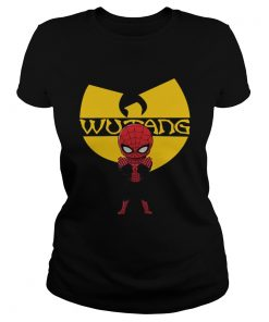 Spiderman Wu Tang Clan Shirt Classic Ladies