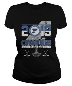 St Louis Blue stanley cup champions  Classic Ladies