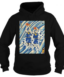 Steph Curry and Klay Thompson Splash Brothers  Hoodie