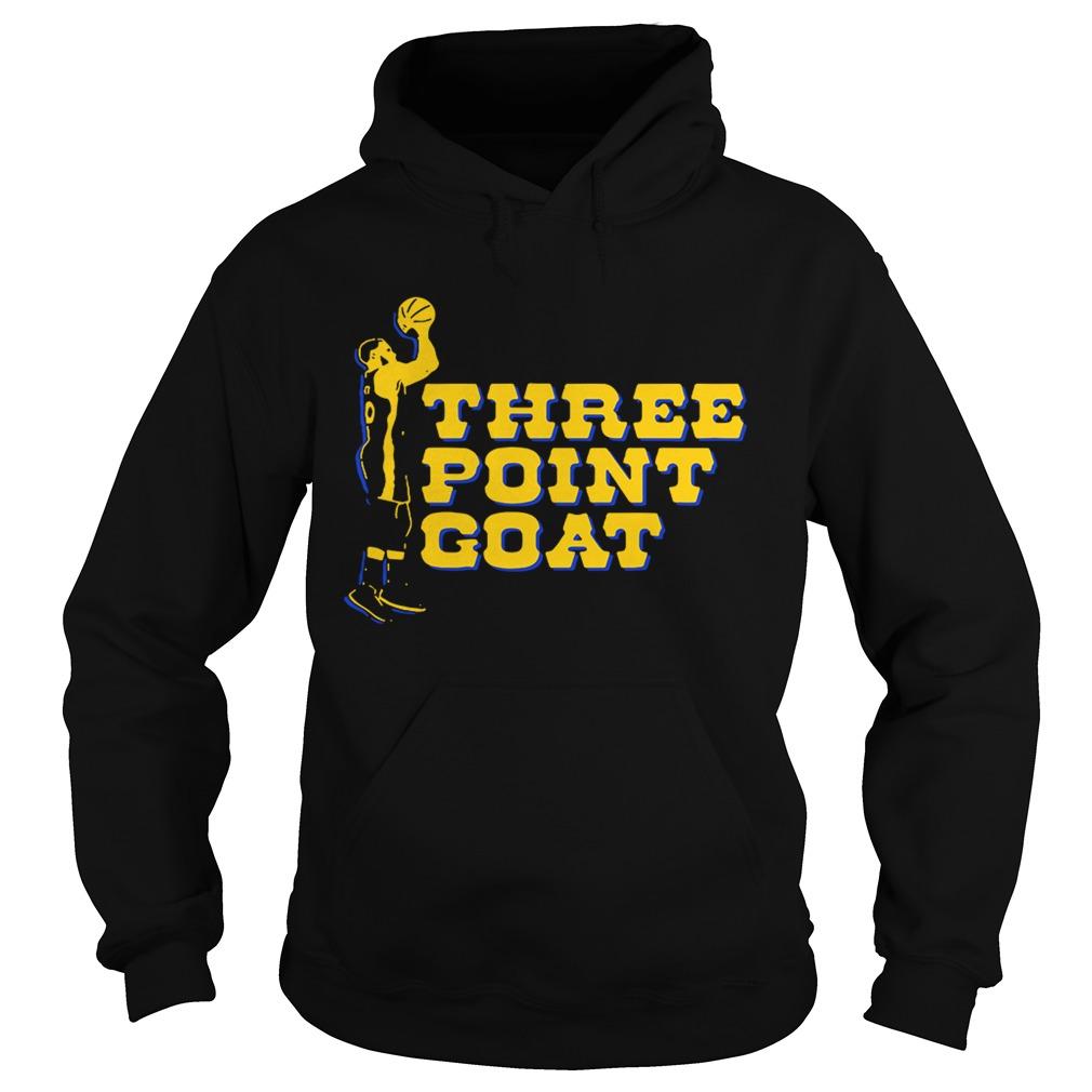 Steph Curry three point goat Golden State Warriors shirt - Kingteeshop