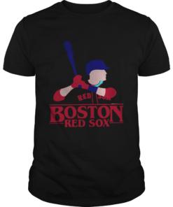 Stranger Things Night Boston Red Sox Shirt Unisex