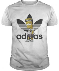 Supreme Bart Simpson with adidas Yeezy  Unisex