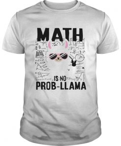 Teachers day Math is no prob Llama  Unisex