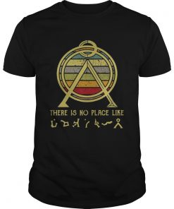 There Is No Place Like Terra Sunset Shirt Unisex