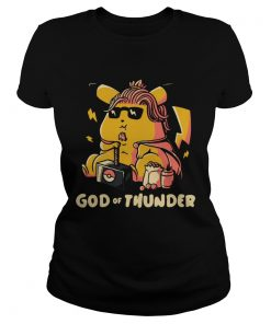 Thor style Pikachu The god of Thunder  Classic Ladies