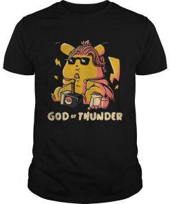 Thor style Pikachu The god of Thunder  Unisex