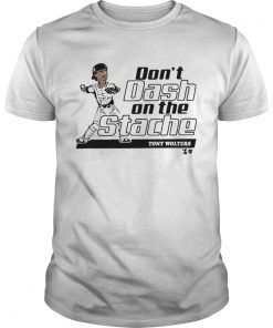 Tony Wolters dont dash on the Stache  Unisex