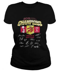 Toronto Raptors 2019 Champions National Basketball Association Classic Ladies