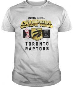 Toronto Raptors 2019 Champions  Unisex