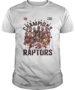 Toronto Raptors Heather Charcoal 2019 NBA Finals Champions Unisex