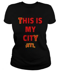 Trae Young This Is My City ATL Shirt Classic Ladies