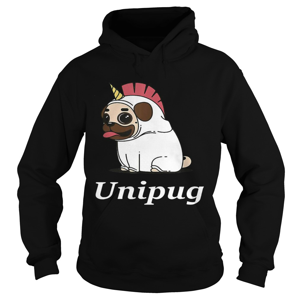 Unipug Unicorn Pug Dog Hoodie