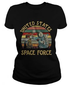 United States space force sunset  Classic Ladies