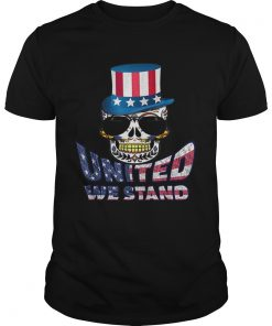 United We Stand Uncle Sam Hat Sugar Skull 4th Of July  Unisex