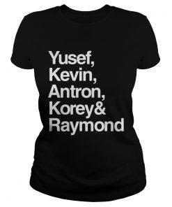 Yusef Kevin Antron Korey and Raymond  Classic Ladies