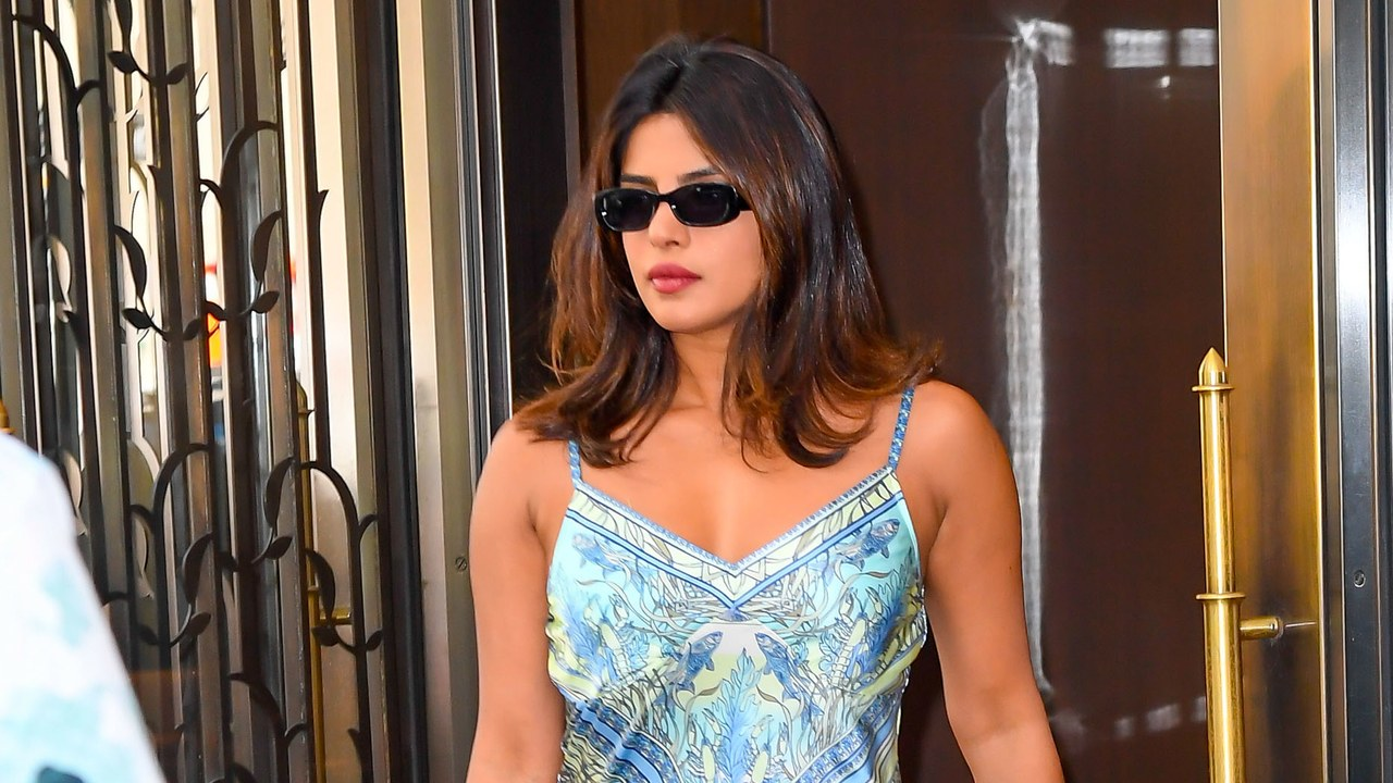 Priyanka Chopra Has Found Summer's Perfect Slip Dress