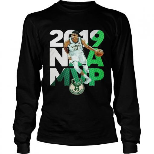 2019 NBA MVP Milwaukee Bucks  LongSleeve