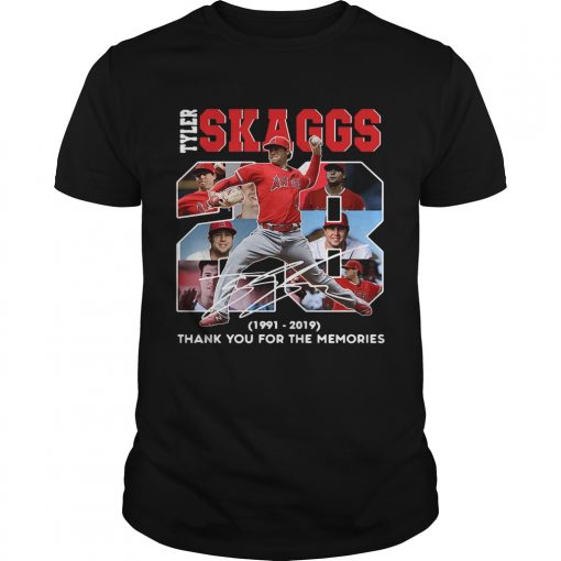 28 Years Tyler Skaggs 1991 2019 thank you for the memories  Unisex