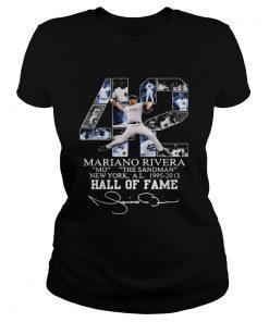 42 Mariano Rivera Mo the Sandman New York al 1995 2013 Hall of fame  Classic Ladies