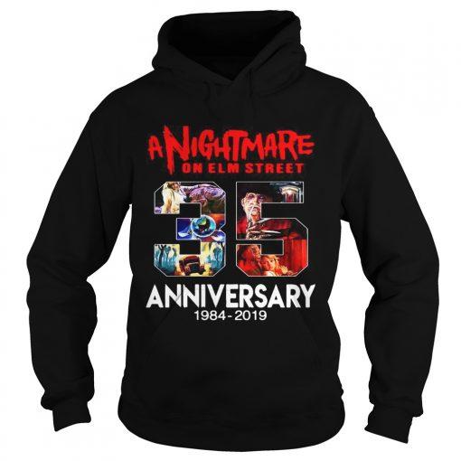 A nightmare on elm street 35th anniversary 1984 2019  Hoodie