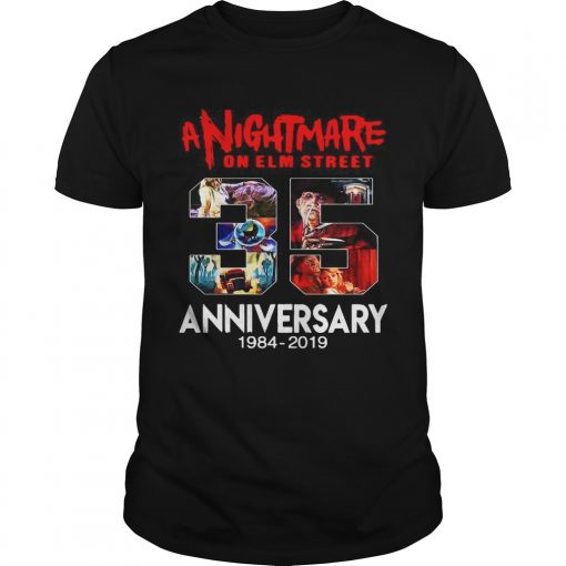 A nightmare on elm street 35th anniversary 1984 2019  Unisex