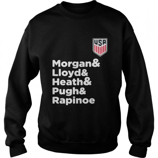 Alex Morgan Julie Ertz Tobin Heath Megan Rapinoe Mallory Pugh Sweatshirt