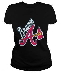Allbluea Angels Braves  Classic Ladies