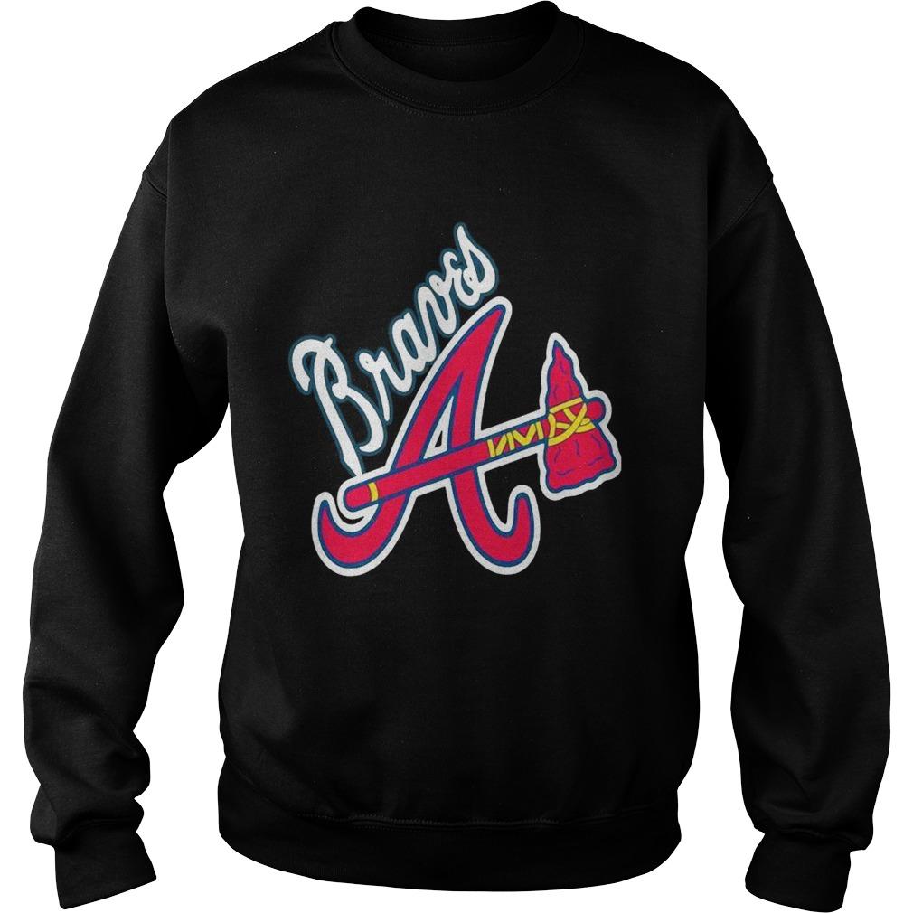 Allbluea Angels Braves Sweatshirt