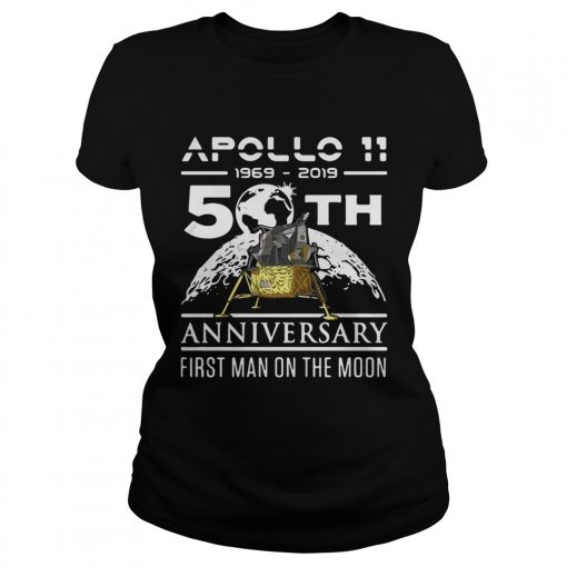 Apollo 11 1969 2019 50th anniversary first man on the moon  Classic Ladies
