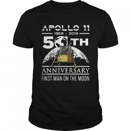 Apollo 11 1969 2019 50th anniversary first man on the moon  Unisex